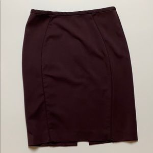 H&M plum/wine colored pencil skirt